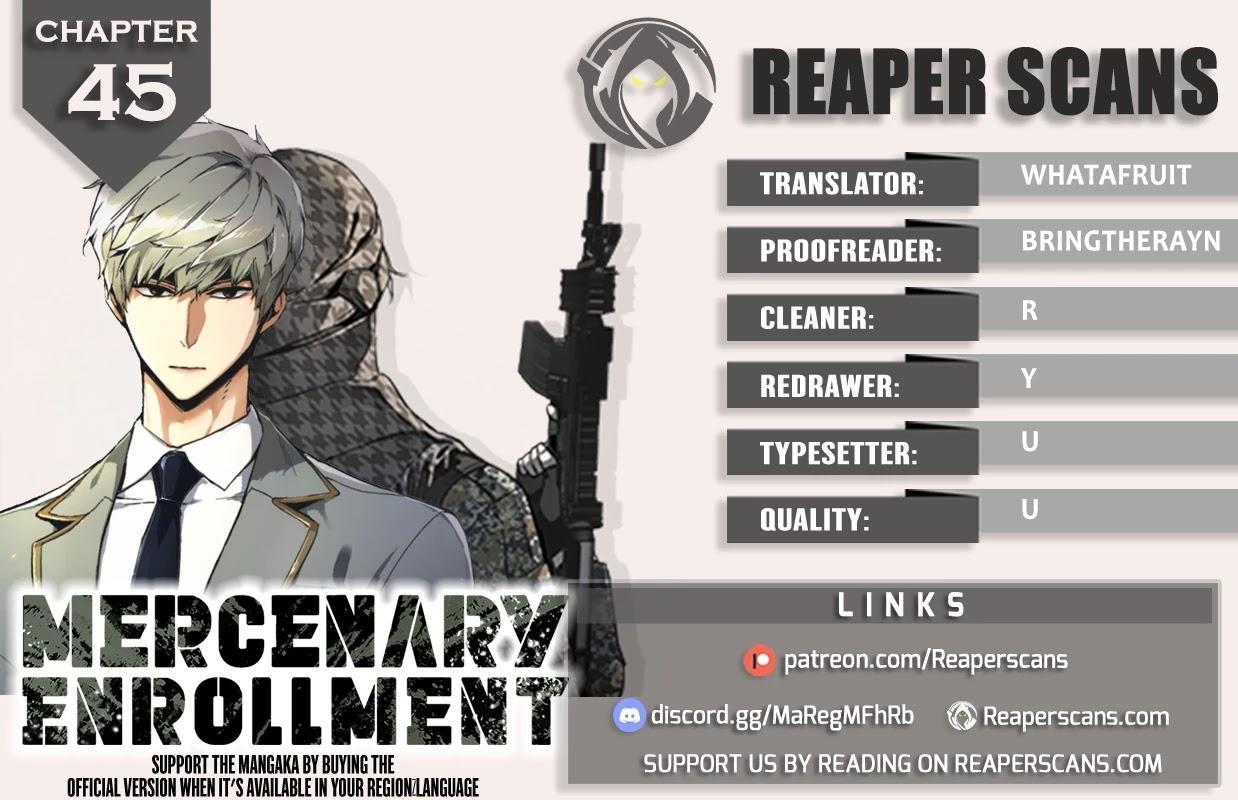 Mercenary Enrollment Chapter 45 page 1 - Mangakakalots.com