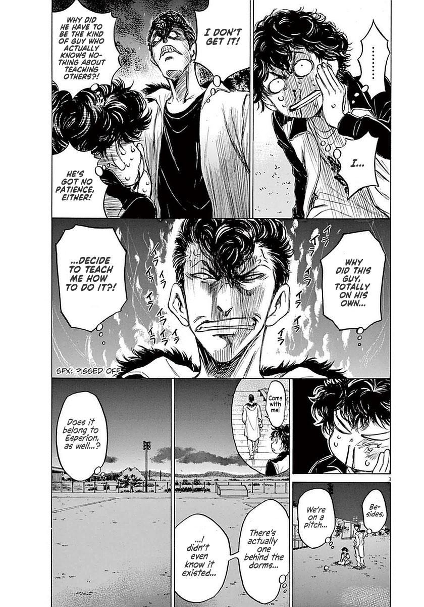 Ao Ashi Vol.4 Chapter 38: The Spartan Pompadour page 3 - Mangakakalots.com