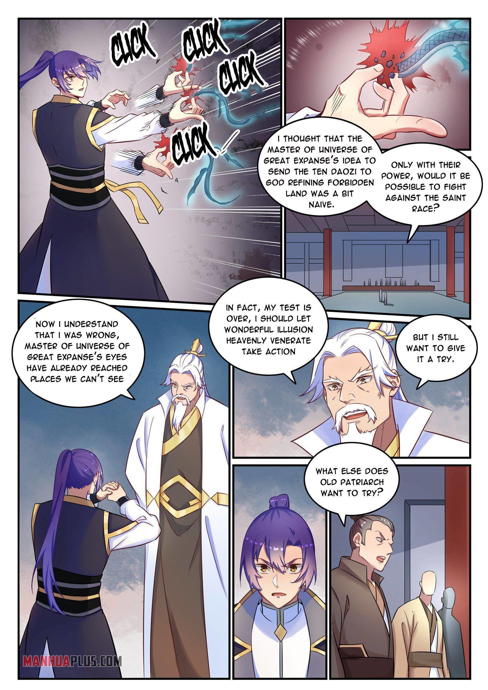 Apotheosis Chapter 781 page 12 - Mangakakalots.com