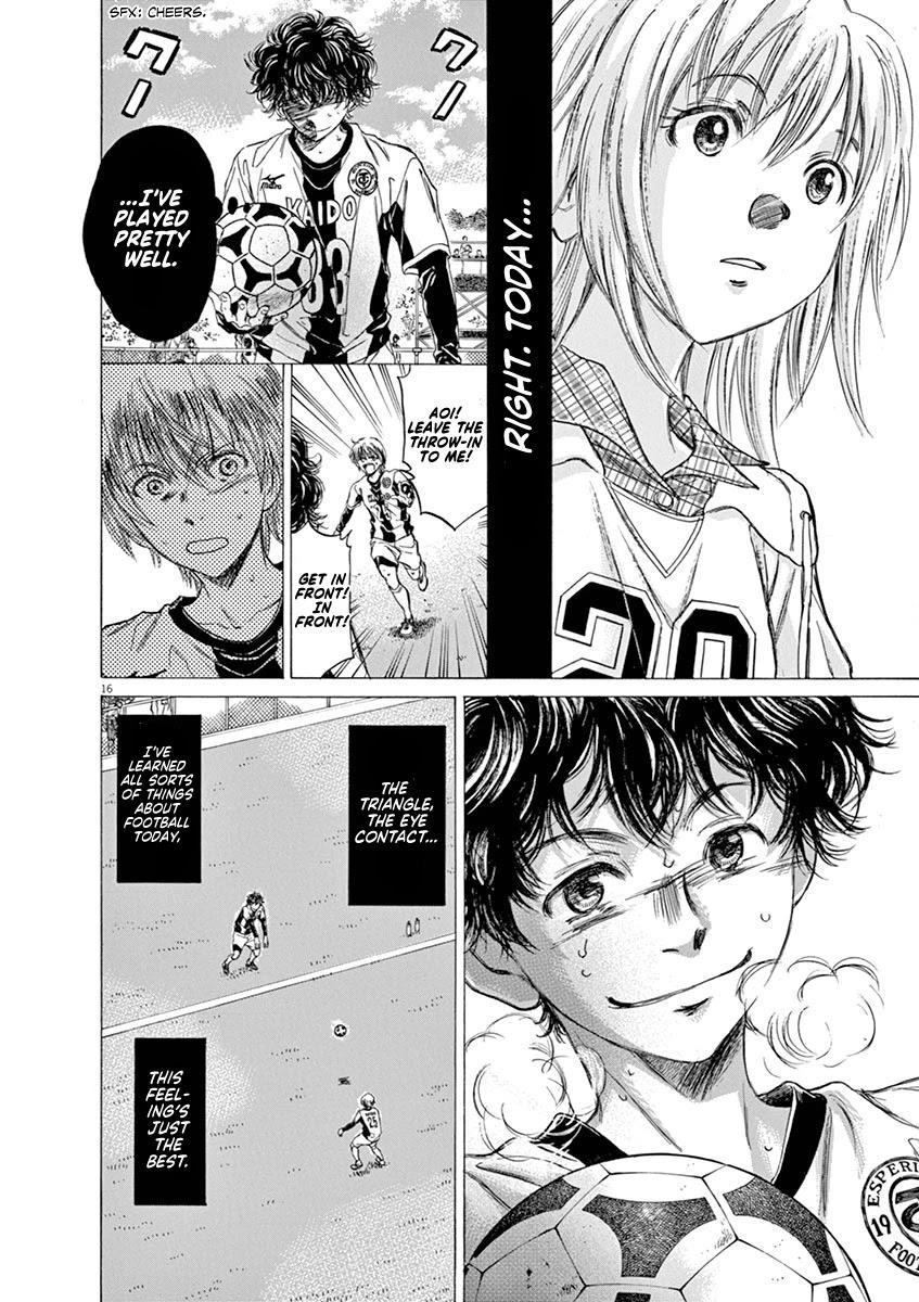 Ao Ashi Chapter 54: Eagle Eye (2) page 16 - Mangakakalots.com