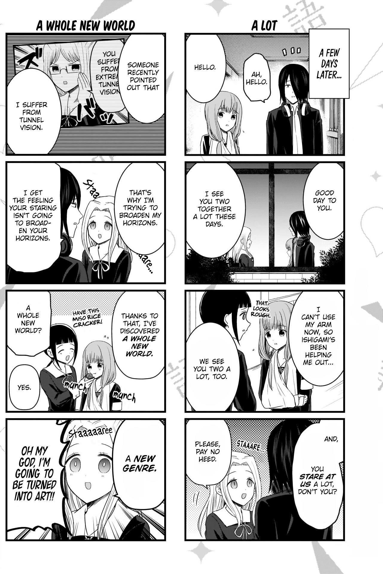 We Want To Talk About Kaguya Chapter 135 page 3 - Mangakakalots.com