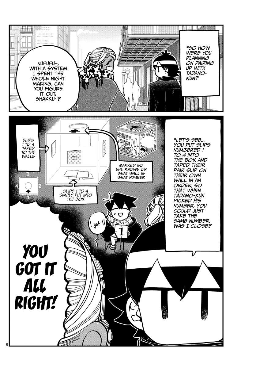 Komi-San Wa Komyushou Desu Chapter 288: Rumiko-Chan And Kometani-Kun page 6 - Mangakakalot