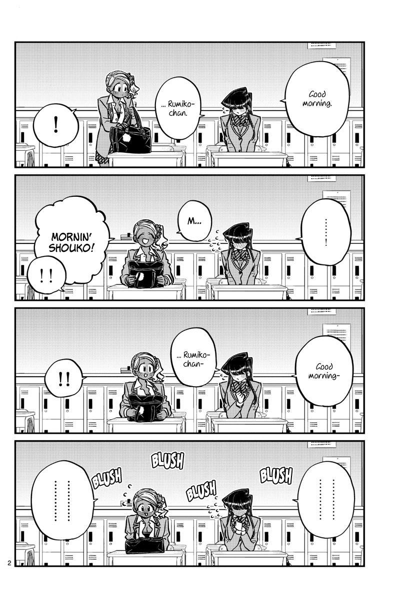 Komi-San Wa Komyushou Desu Chapter 240: Technique page 2 - Mangakakalot