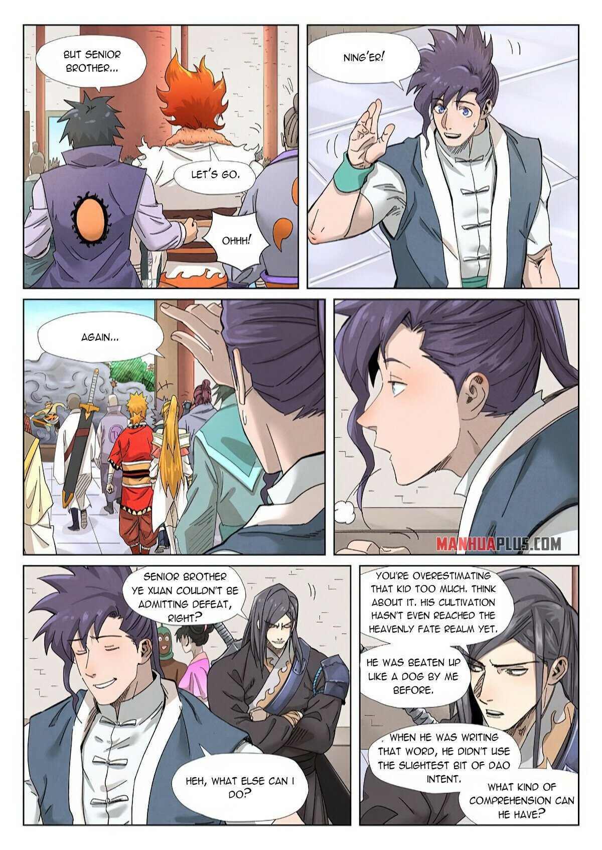 Tales Of Demons And Gods Chapter 343 page 4 - Mangakakalots.com