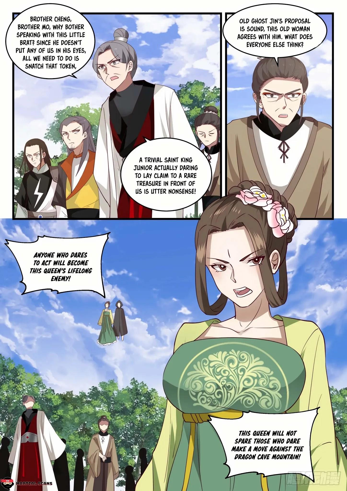 Martial Peak Chapter 1295: Series Of Twists And Turns page 4 - Mangakakalots.com