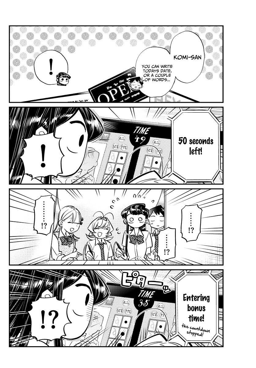 Komi-San Wa Komyushou Desu Vol.4 Chapter 57: Photo Stickers page 10 - Mangakakalot