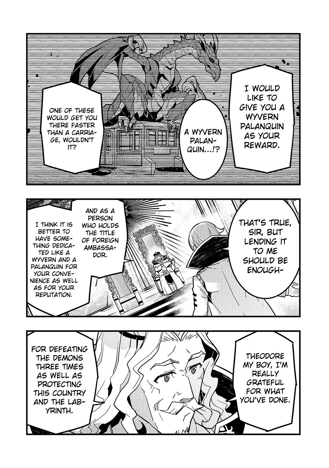 Kyoukai Meikyuu To Ikai No Majutsushi Chapter 33 page 19 - Mangakakalots.com