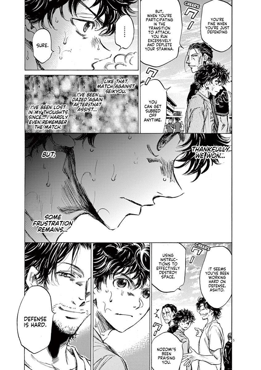 Ao Ashi Vol.8 Chapter 83: Dejected Face page 6 - Mangakakalots.com