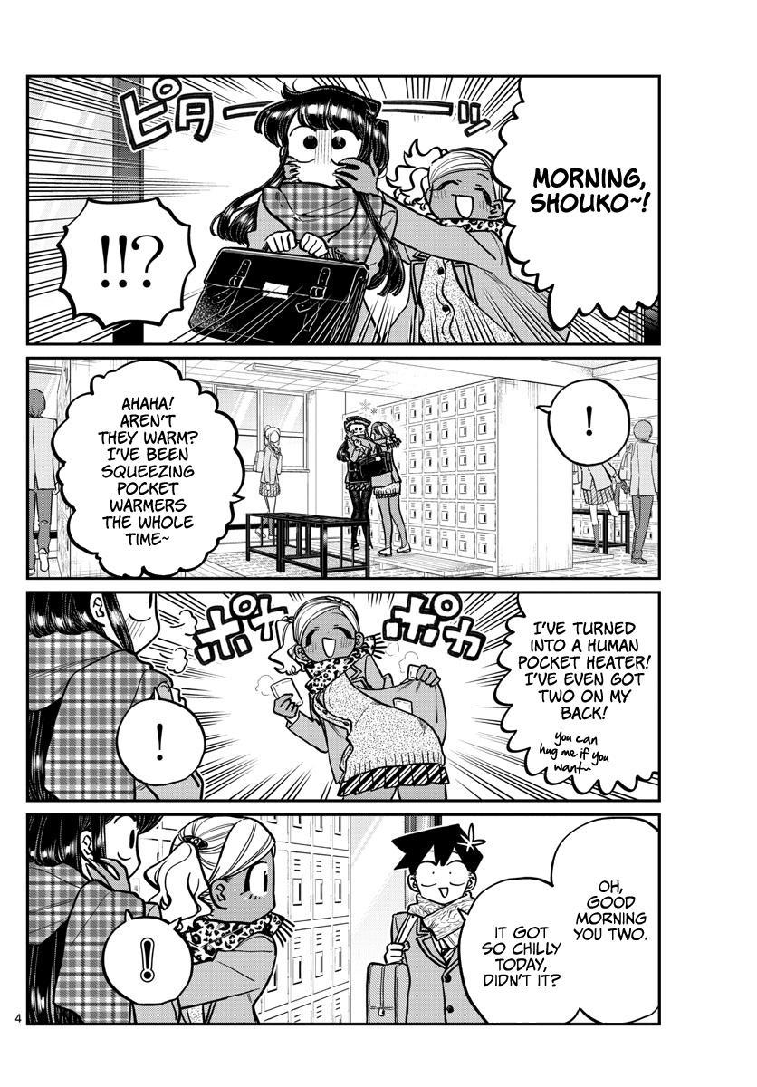 Komi-San Wa Komyushou Desu Chapter 255: Pocket Heater page 4 - Mangakakalot