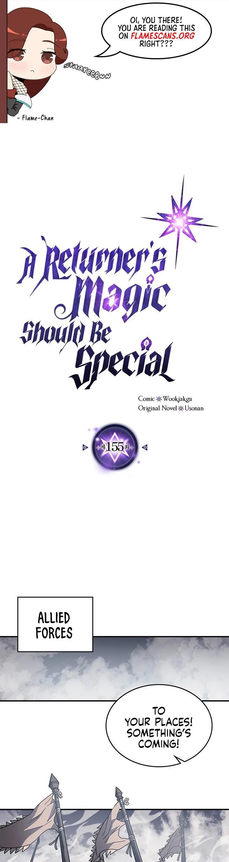 A Returner's Magic Should Be Special Chapter 155 page 2 - Mangakakalots.com