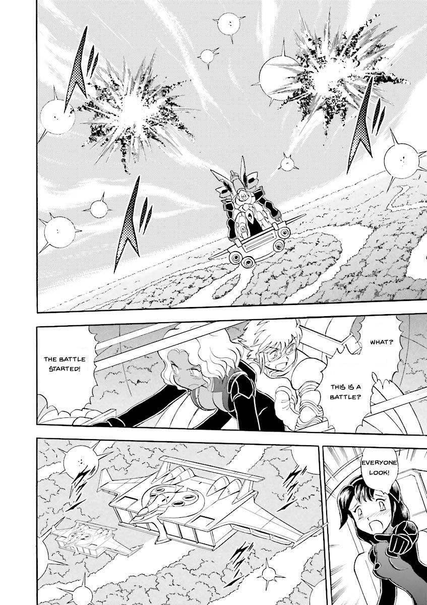 Kidou Senshi Crossbone Gundam Ghost Vol.5 Chapter 19: Jaburo's Thunderclap page 25 - Mangakakalots.com