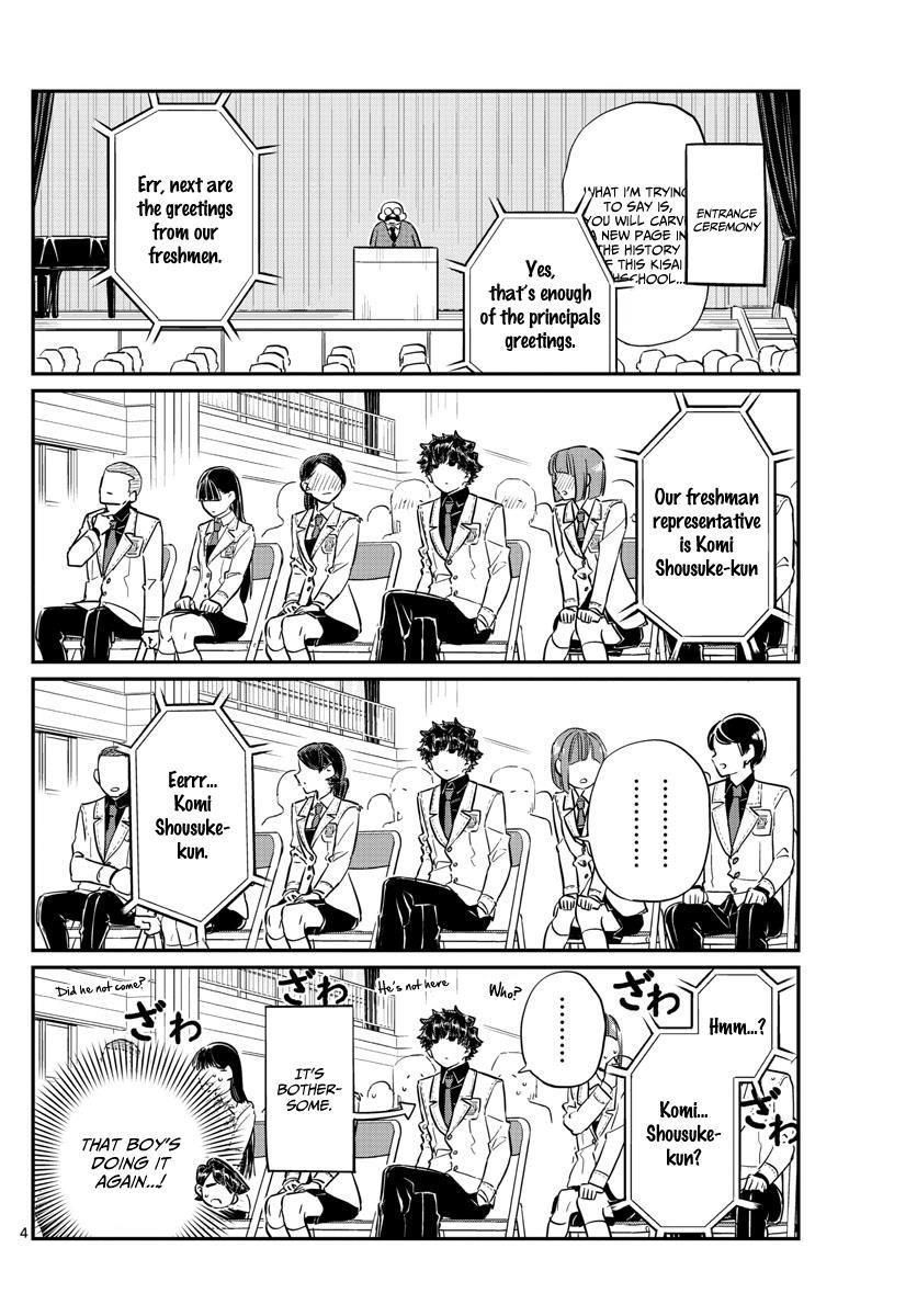 Komi-San Wa Komyushou Desu Vol.10 Chapter 133: Komi-Kun page 4 - Mangakakalot