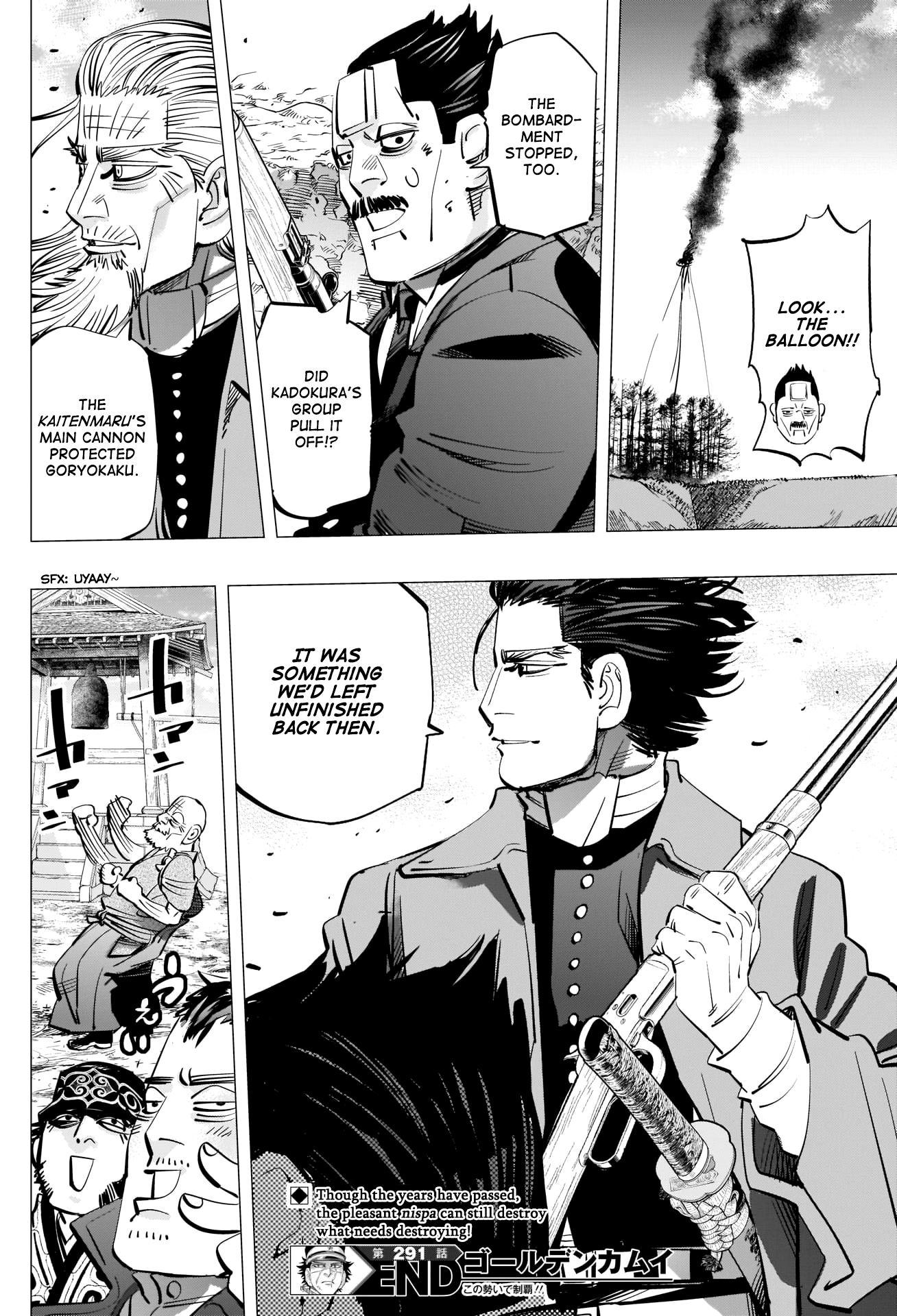 Golden Kamui Chapter 291: Antique page 18 - Mangakakalots.com
