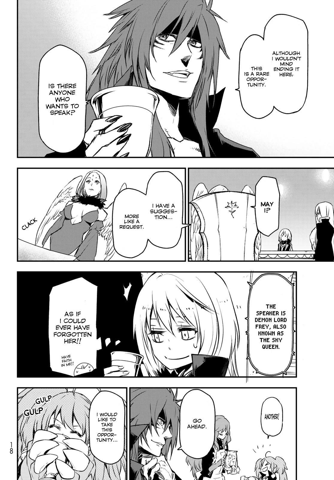 Tensei Shitara Slime Datta Ken Chapter 86: Octagram Demon Lords page 6 - Mangakakalots.com