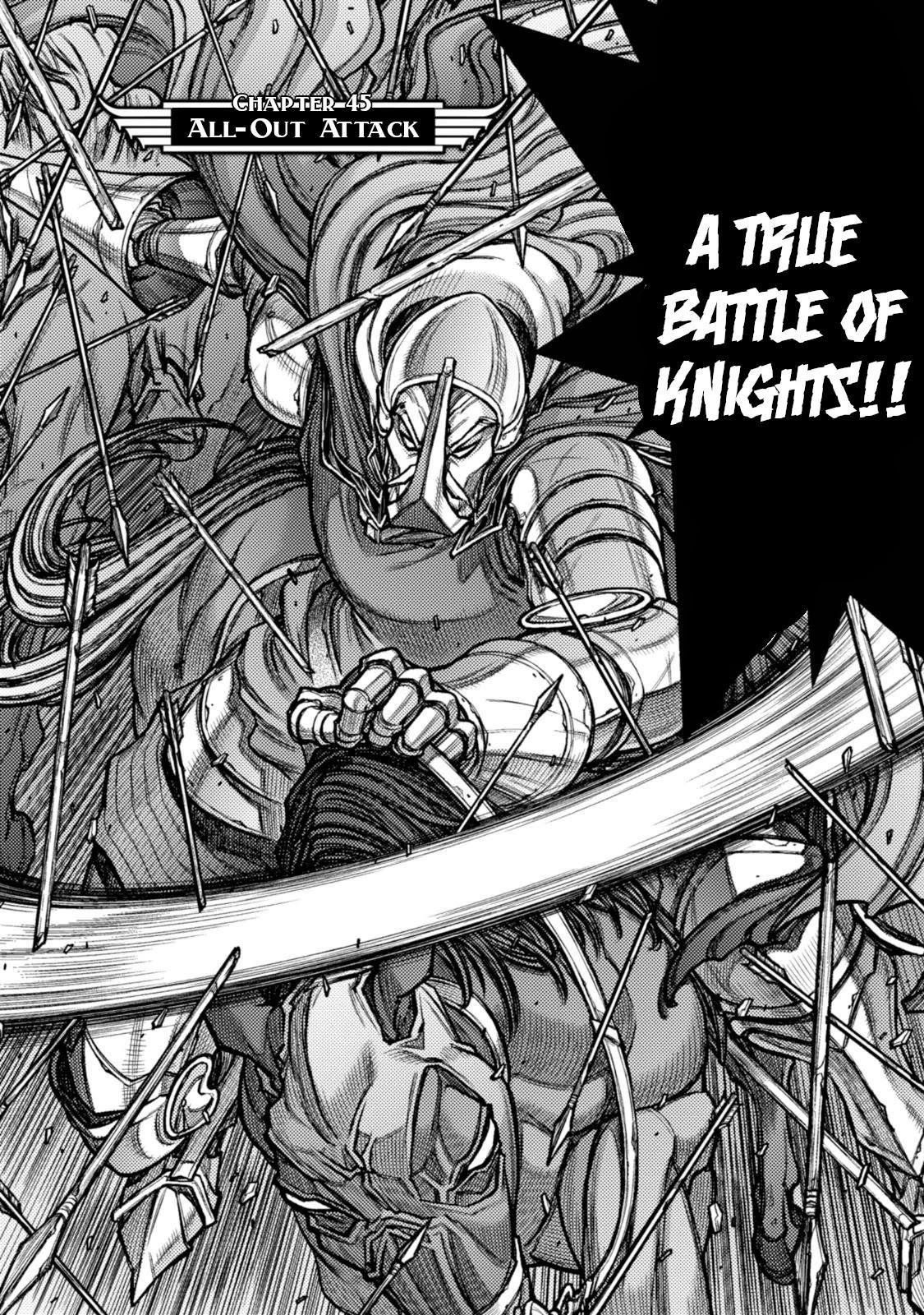 Hawkwood Chapter 45: All-Out Attack page 2 - Mangakakalots.com