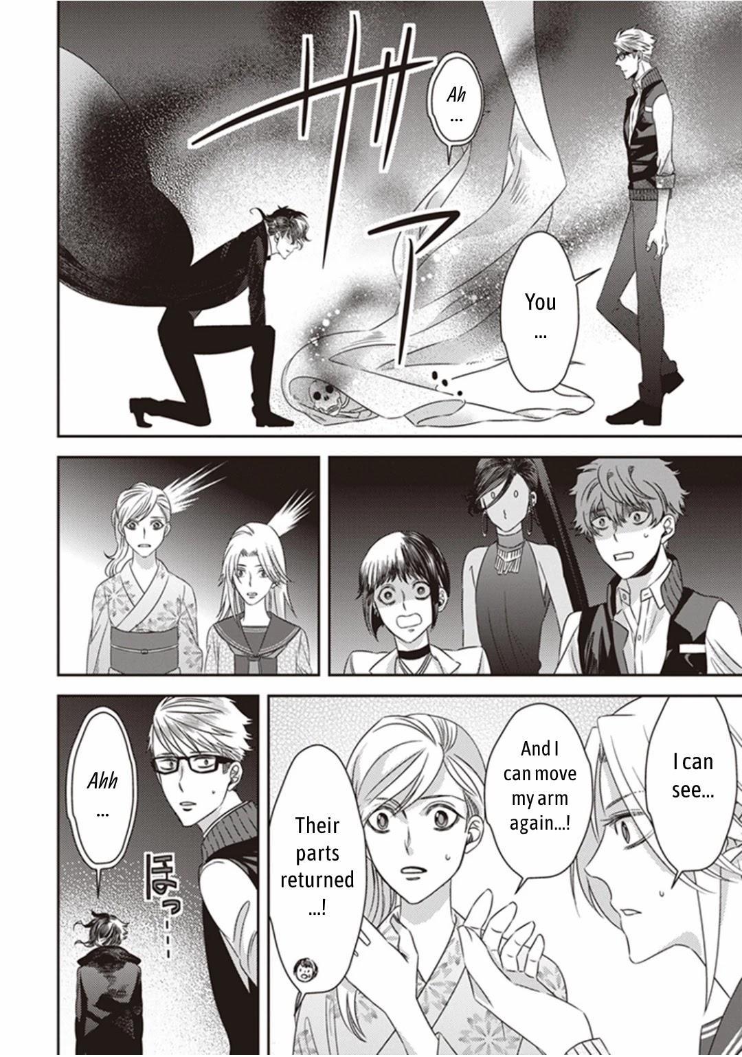 Midnight Occult Civil Servants Chapter 11.2: Demon And Sense Of Loss (Part 4) page 11 - Mangakakalots.com