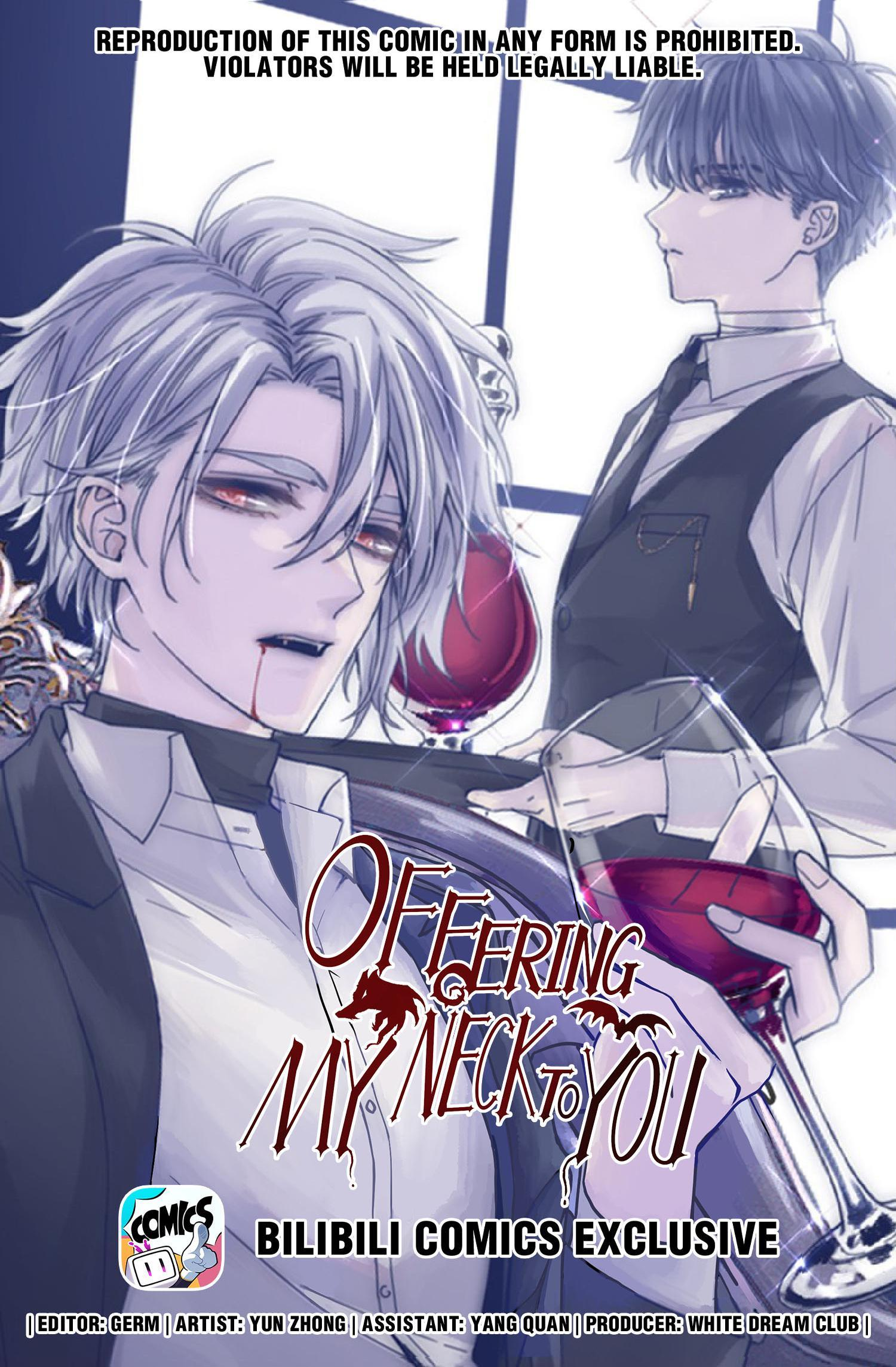 Offering My Neck To You Chapter 21: Can't Keep Calm Of Anything That Implicates Him page 1 - Mangakakalots.com
