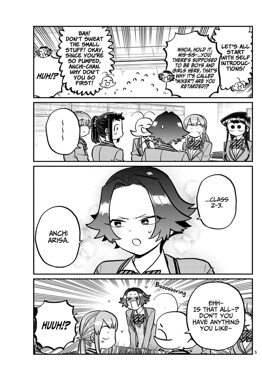 Komi-San Wa Komyushou Desu Chapter 251: Mixer? page 5 - Mangakakalot