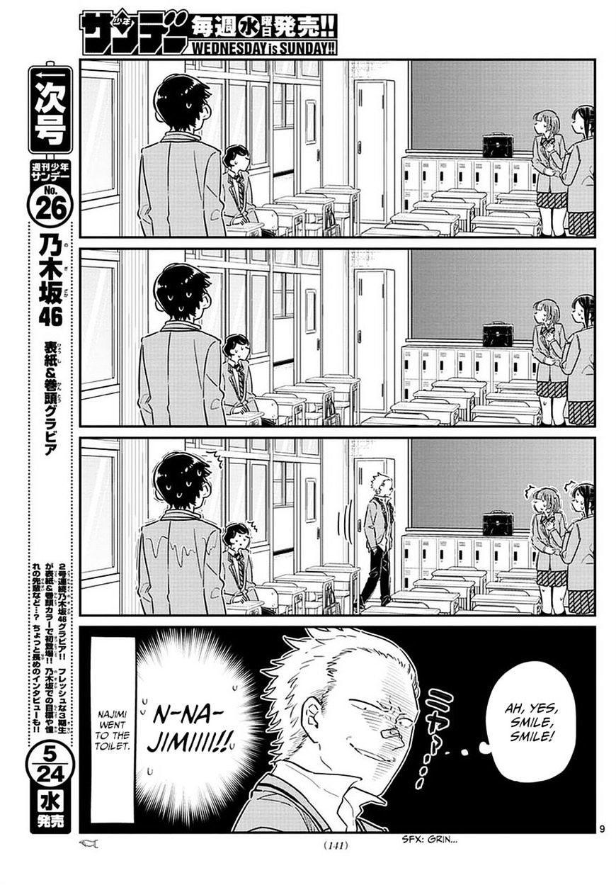 Komi-San Wa Komyushou Desu Vol.6 Chapter 76: A Delinquent page 9 - Mangakakalot