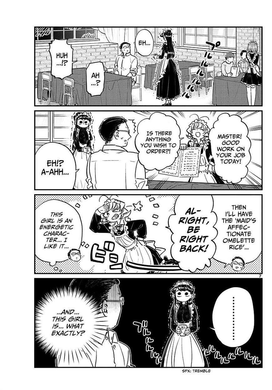 Komi-San Wa Komyushou Desu Vol.5 Chapter 67: Maids page 7 - Mangakakalot
