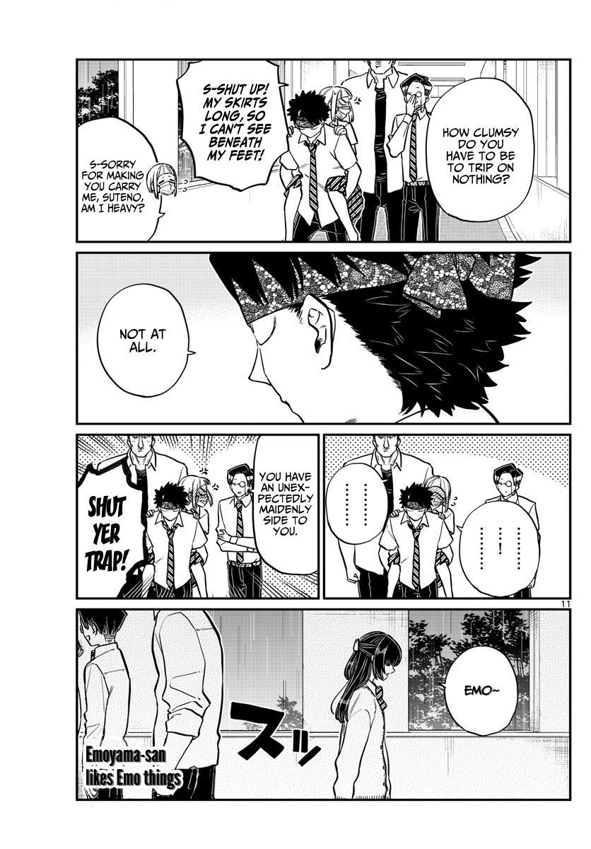 Komi-San Wa Komyushou Desu Chapter 216: Emotional page 11 - Mangakakalot