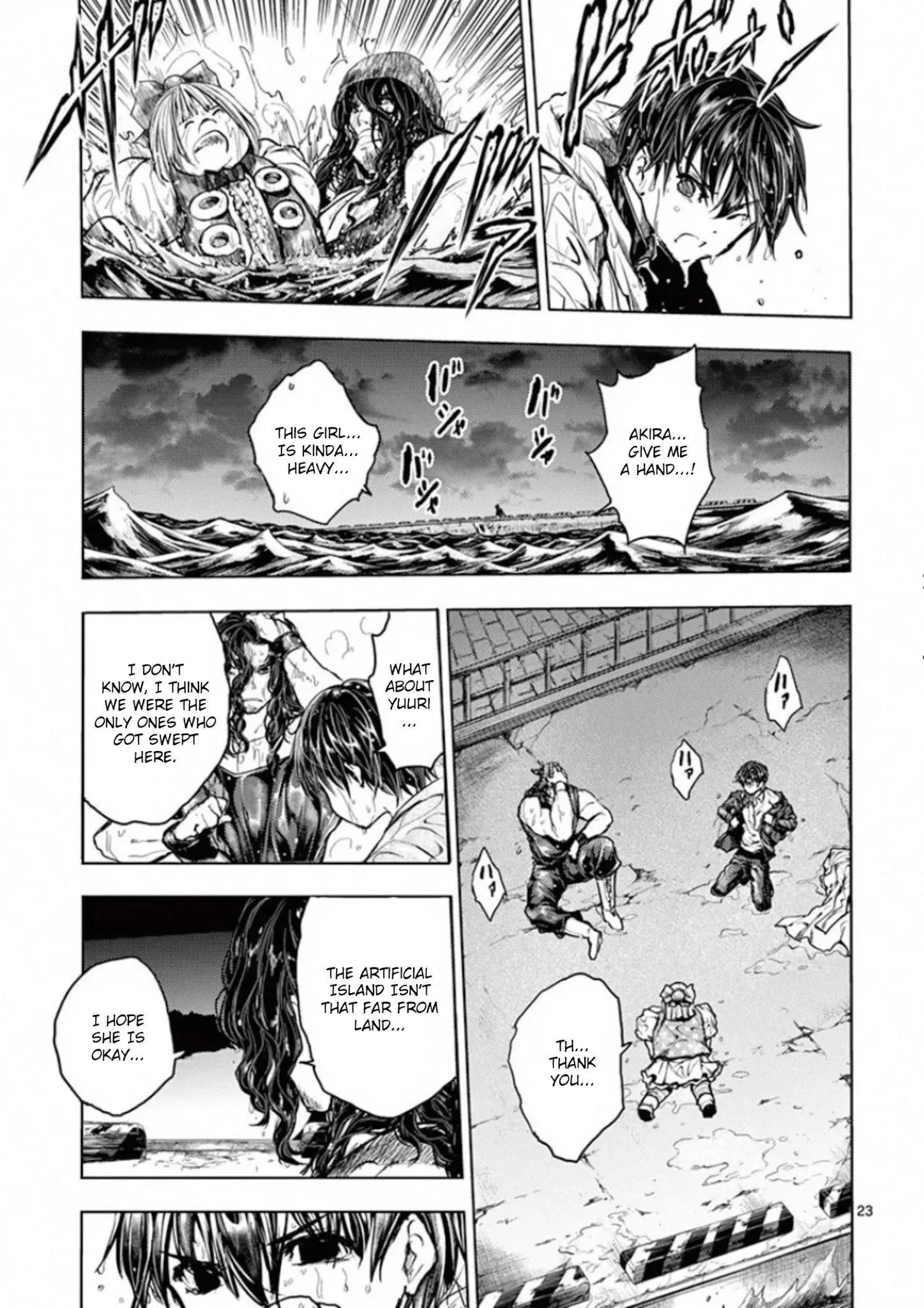Deatte 5 Byou De Battle Chapter 133: Mark Of Rebellion page 23 - Mangakakalots.com