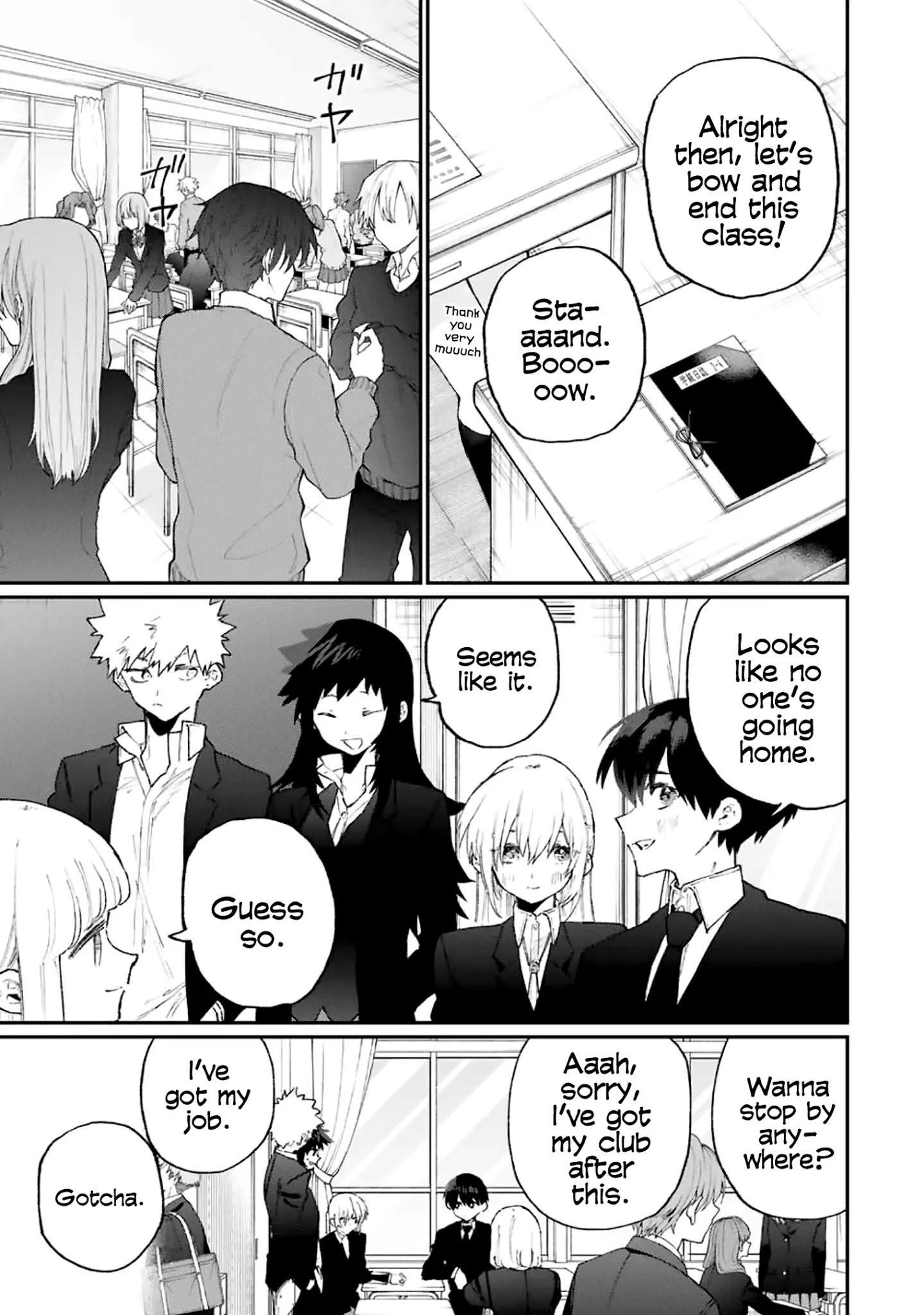 Shikimori's Not Just A Cutie Chapter 115 page 4 - Mangakakalots.com