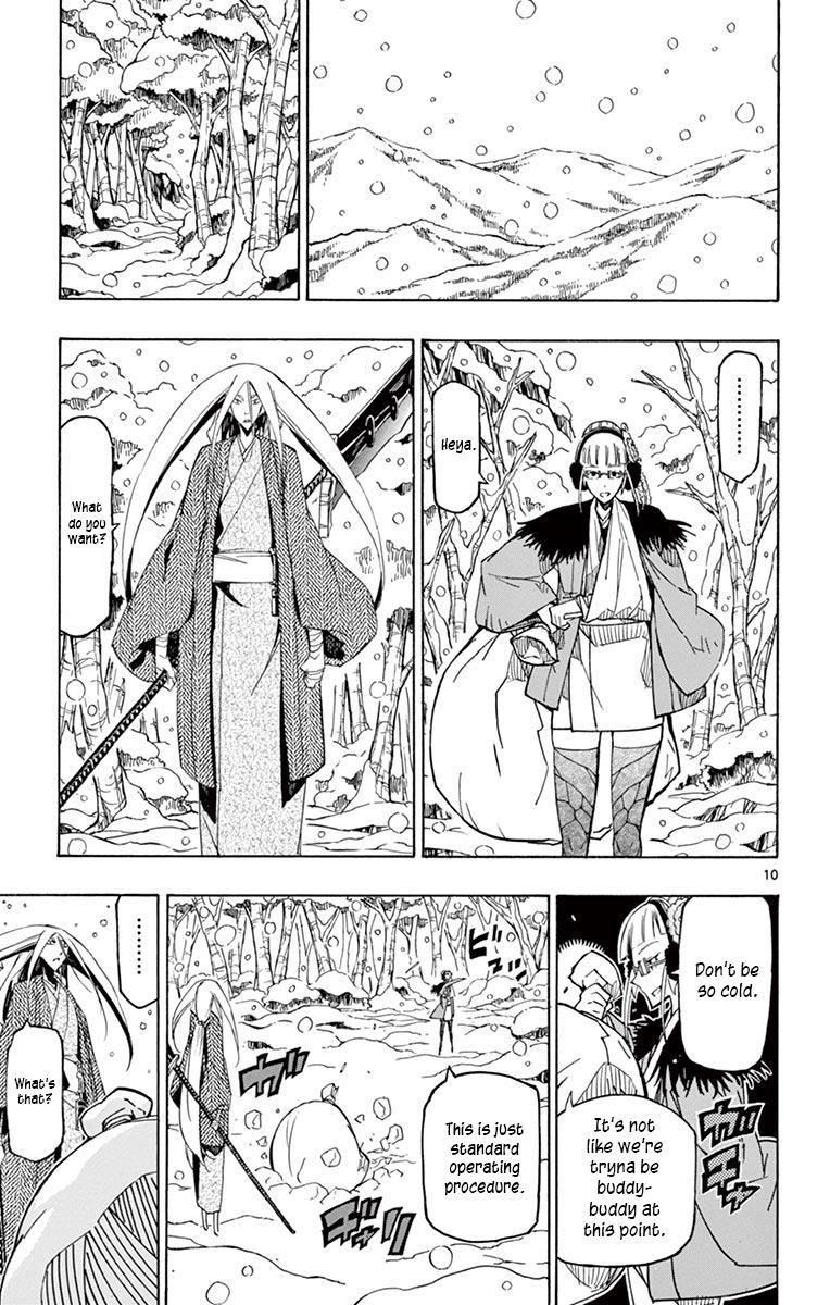 Joujuu Senjin!! Mushibugyo Vol.25 Chapter 241: Setoff (First Part) page 10 - Mangakakalots.com