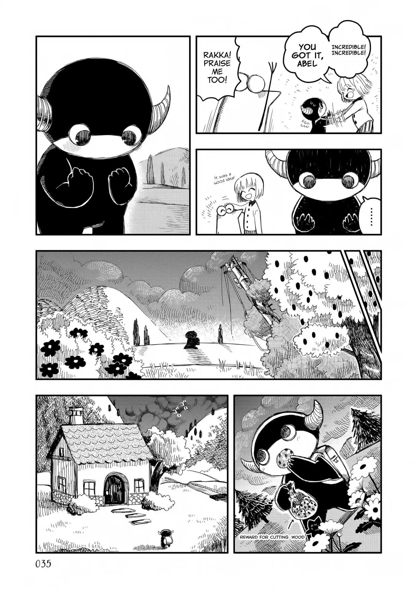 Rojica To Rakkasei Chapter 10: The Sorcerer Abel page 13 - Mangakakalots.com