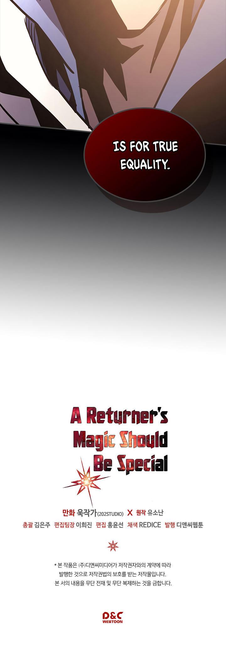 A Returner's Magic Should Be Special Chapter 112 page 34 - Mangakakalots.com