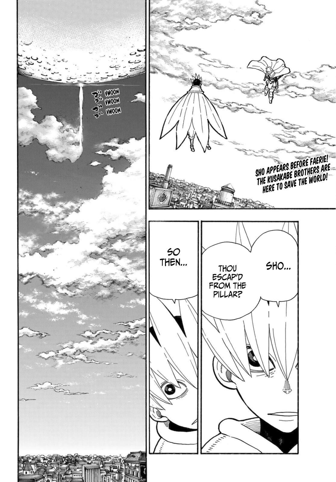 Enen No Shouboutai Chapter 274: The Saviour And The Guardian Angel page 3 - Mangakakalots.com