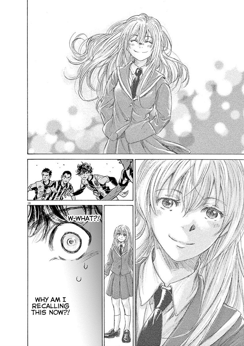 Ao Ashi Vol.19 Chapter 197: It Wasn't Today page 18 - Mangakakalots.com