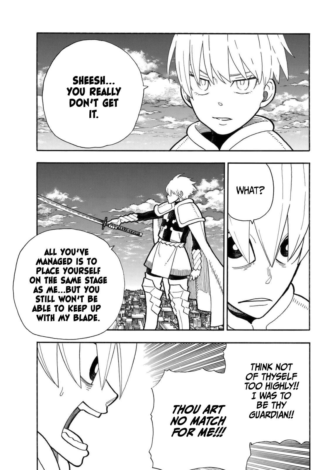 Enen No Shouboutai Chapter 274: The Saviour And The Guardian Angel page 14 - Mangakakalots.com