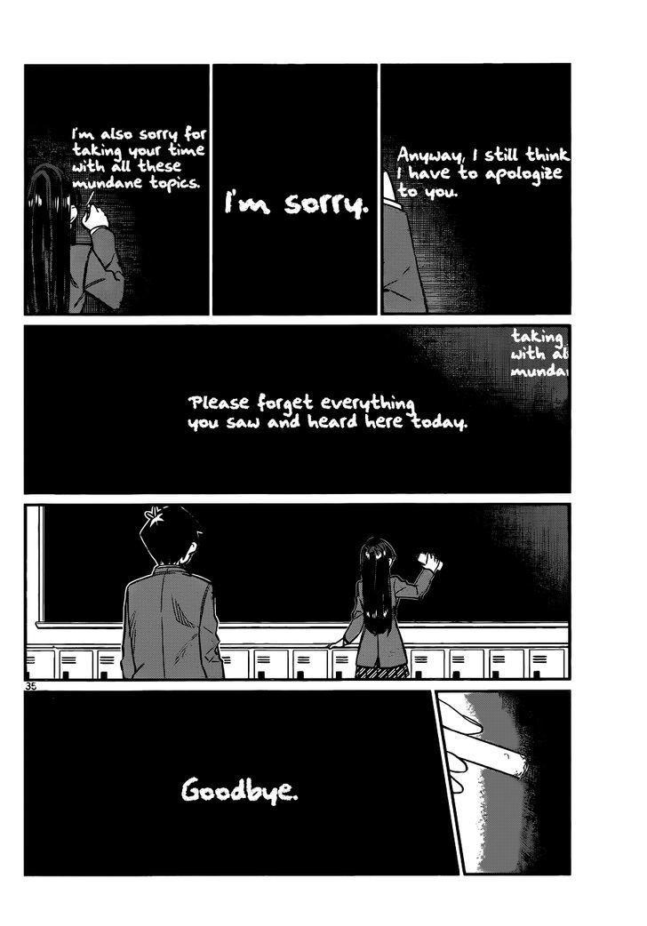 Komi-San Wa Komyushou Desu Vol.1 Chapter 6: I Want To Apologize page 3 - Mangakakalot