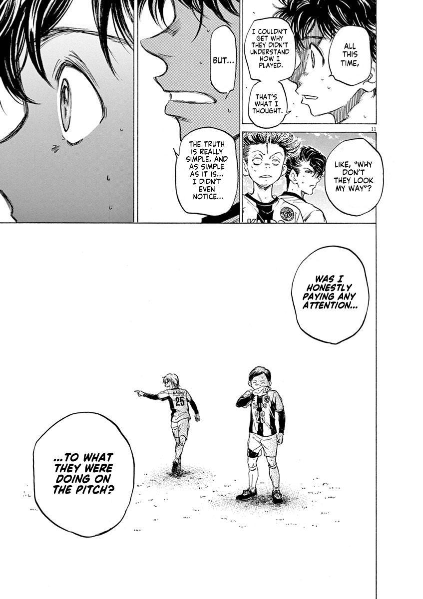 Ao Ashi Chapter 49: Thinking Wave page 11 - Mangakakalots.com
