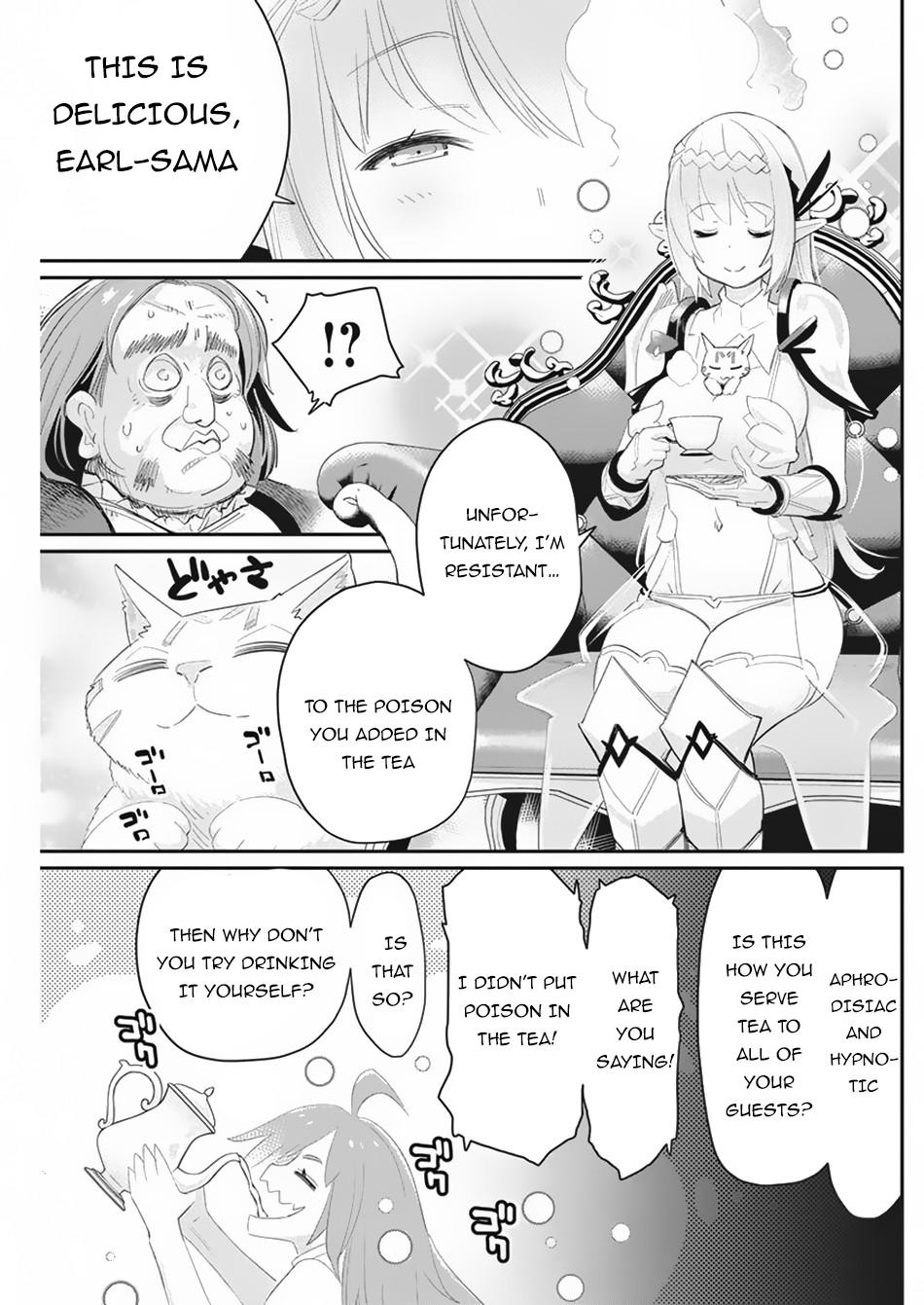 I Am Behemoth Of The S Rank Monster But I Am Mistaken As A Cat And I Live As A Pet Of Elf Girl Chapter 33 page 15 - Mangakakalots.com
