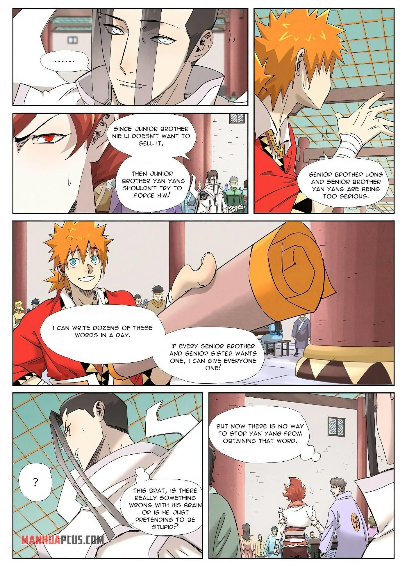 Tales Of Demons And Gods Chapter 342 page 4 - Mangakakalot