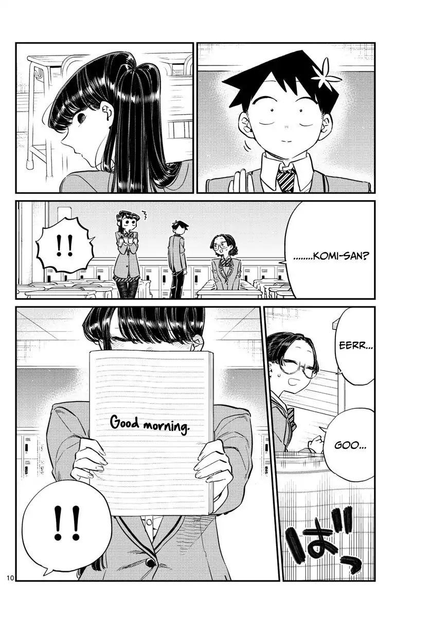 Komi-San Wa Komyushou Desu Vol.9 Chapter 114: Everyone's Commnunication page 10 - Mangakakalot