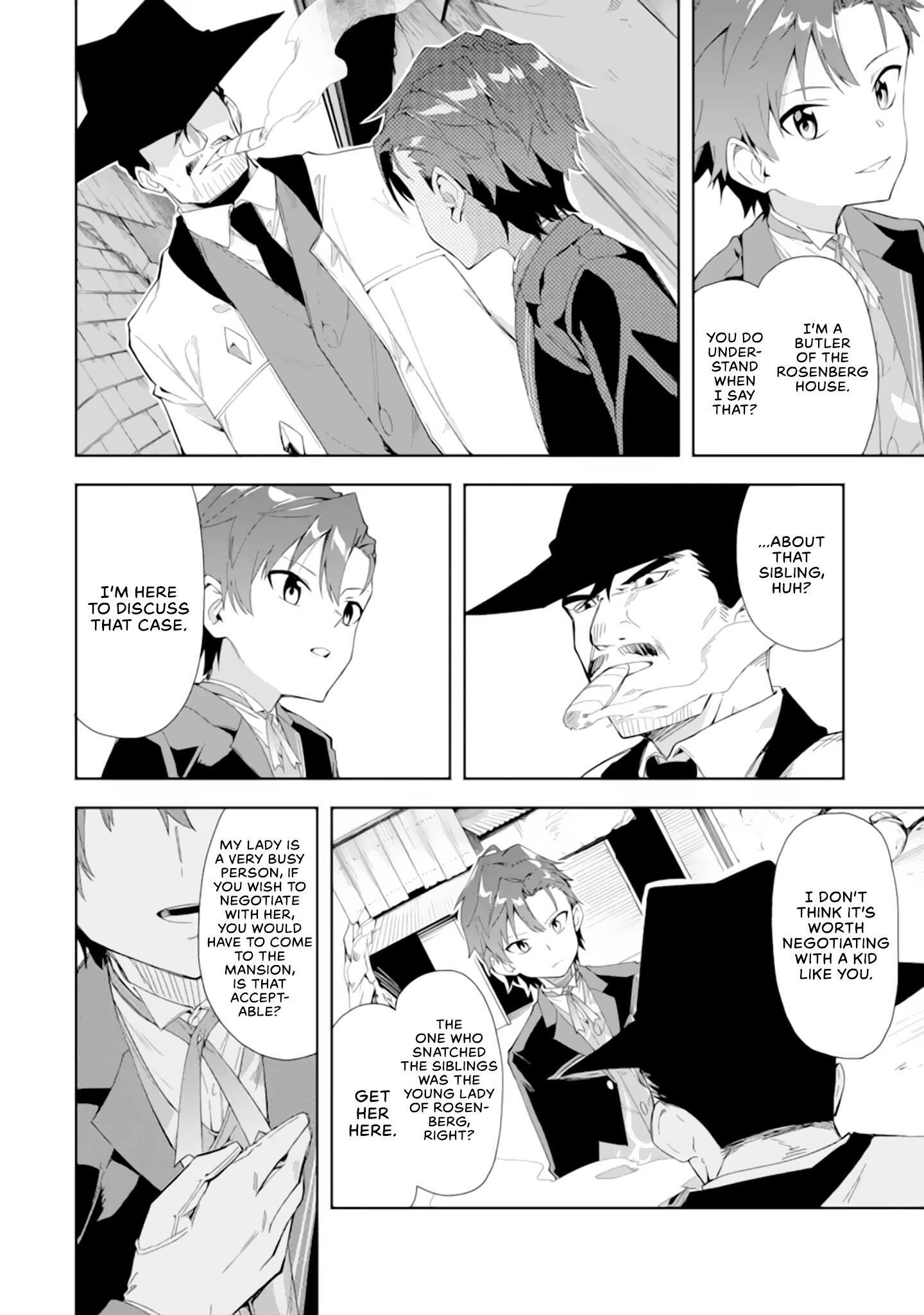 Akuyaku Reijou No Shitsuji-Sama Hametsu Chapter 5.1: Dark Guild page 3 - Mangakakalots.com