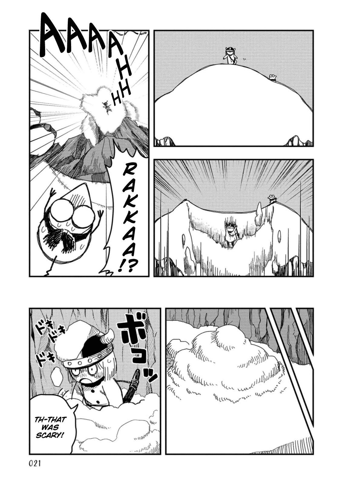 Rojica To Rakkasei Chapter 19: The Mystery Of The Snowy Mountain page 5 - Mangakakalots.com