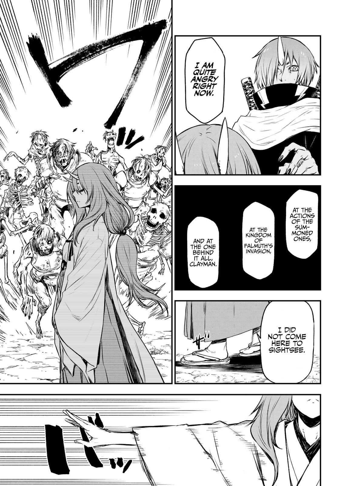 Tensei Shitara Slime Datta Ken Chapter 81: The Wight King page 42 - Mangakakalots.com