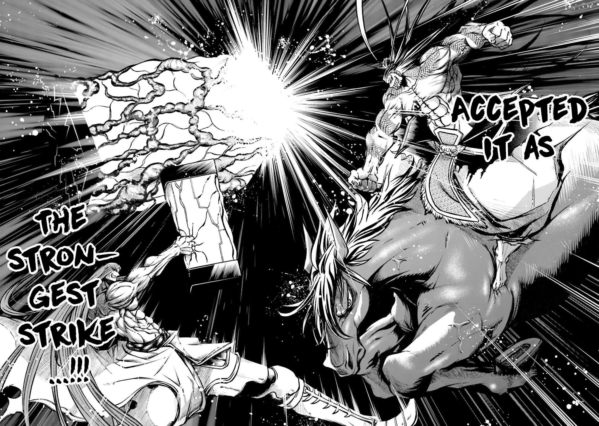 Shuumatsu No Valkyrie: The Legend Of Lu Bu Fengxian Chapter 8 page 22 - Mangakakalots.com
