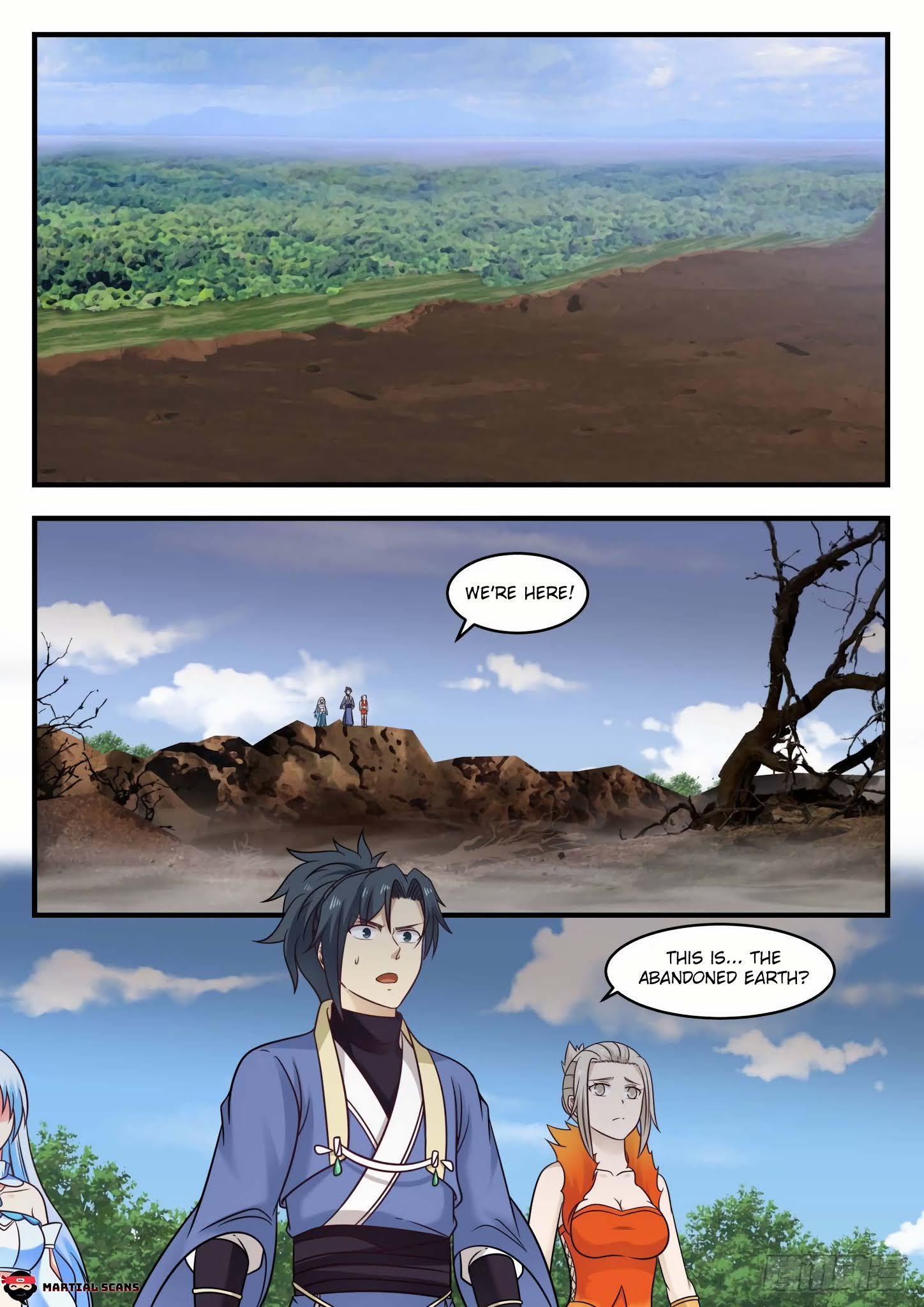 Martial Peak Chapter 583 - Abandoned Earth page 10 - Mangakakalots.com