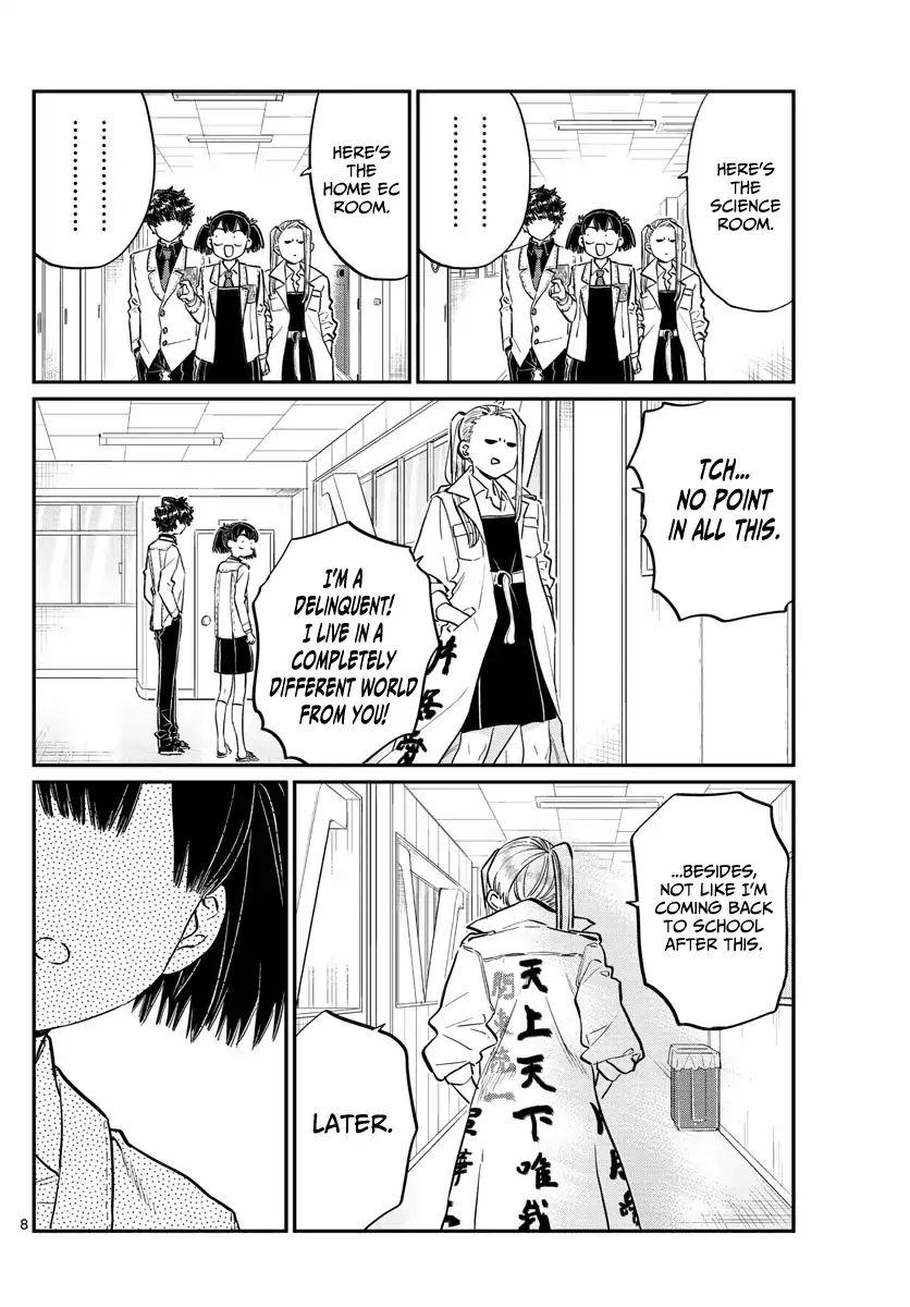Komi-San Wa Komyushou Desu Vol.13 Chapter 182: A Hard Liner page 8 - Mangakakalot