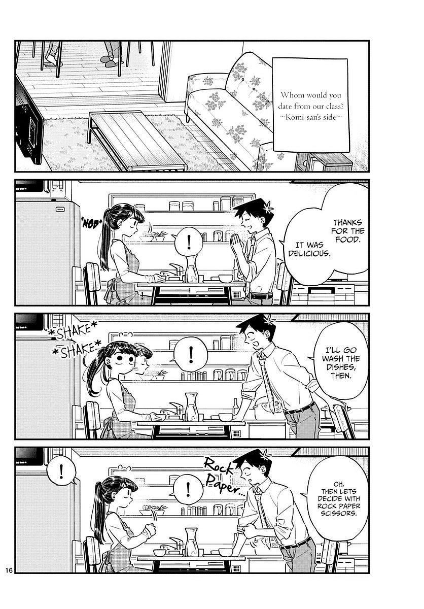 Komi-San Wa Komyushou Desu Vol.6 Chapter 75: Delusions page 16 - Mangakakalot