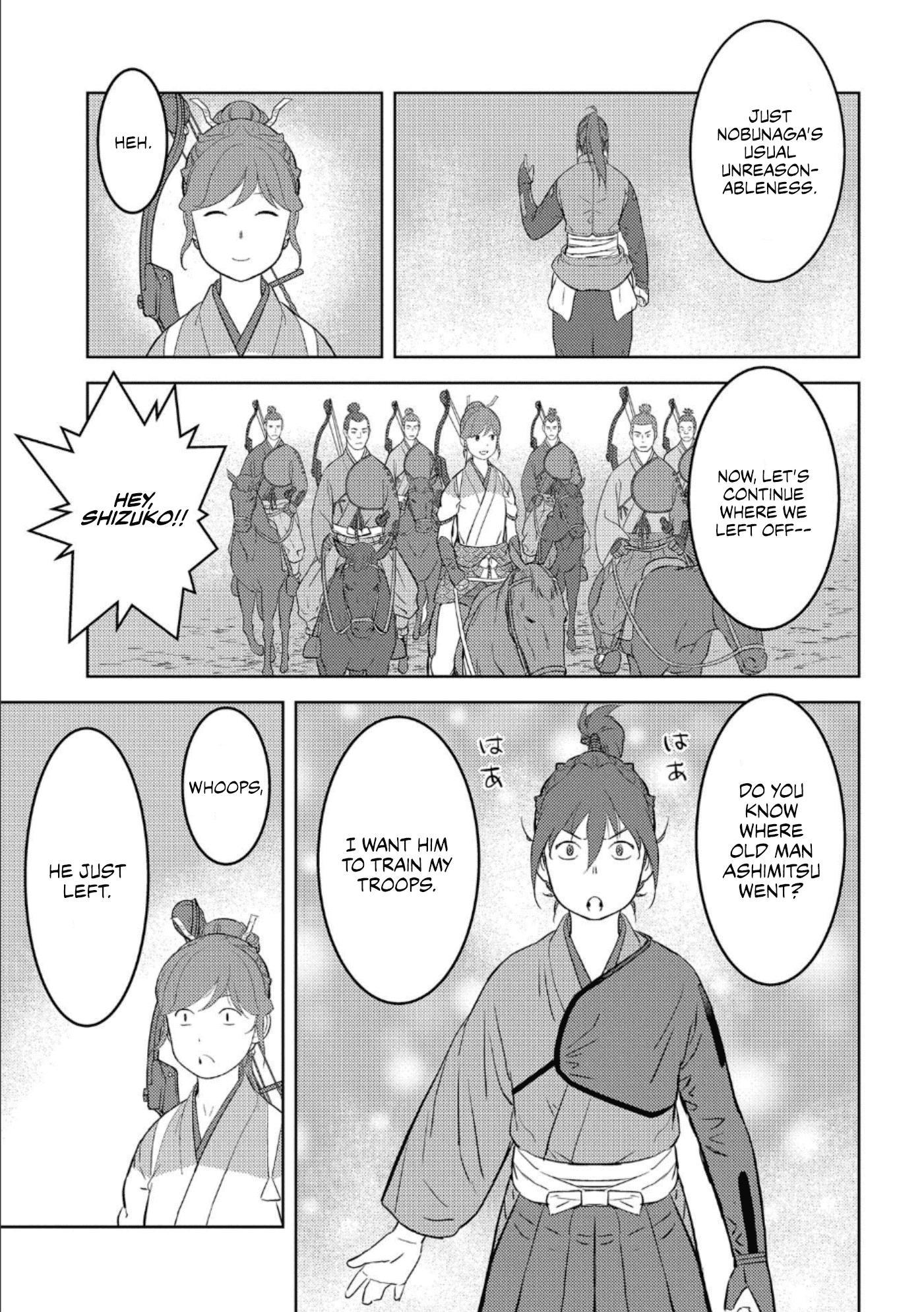 Sengoku Komachi Kurou Tan! Chapter 41 page 26 - Mangakakalots.com