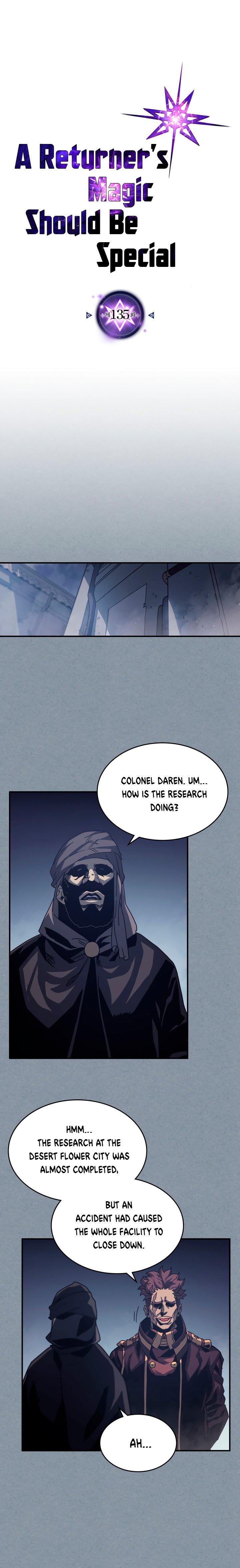 A Returner's Magic Should Be Special Chapter 135 page 2 - Mangakakalots.com