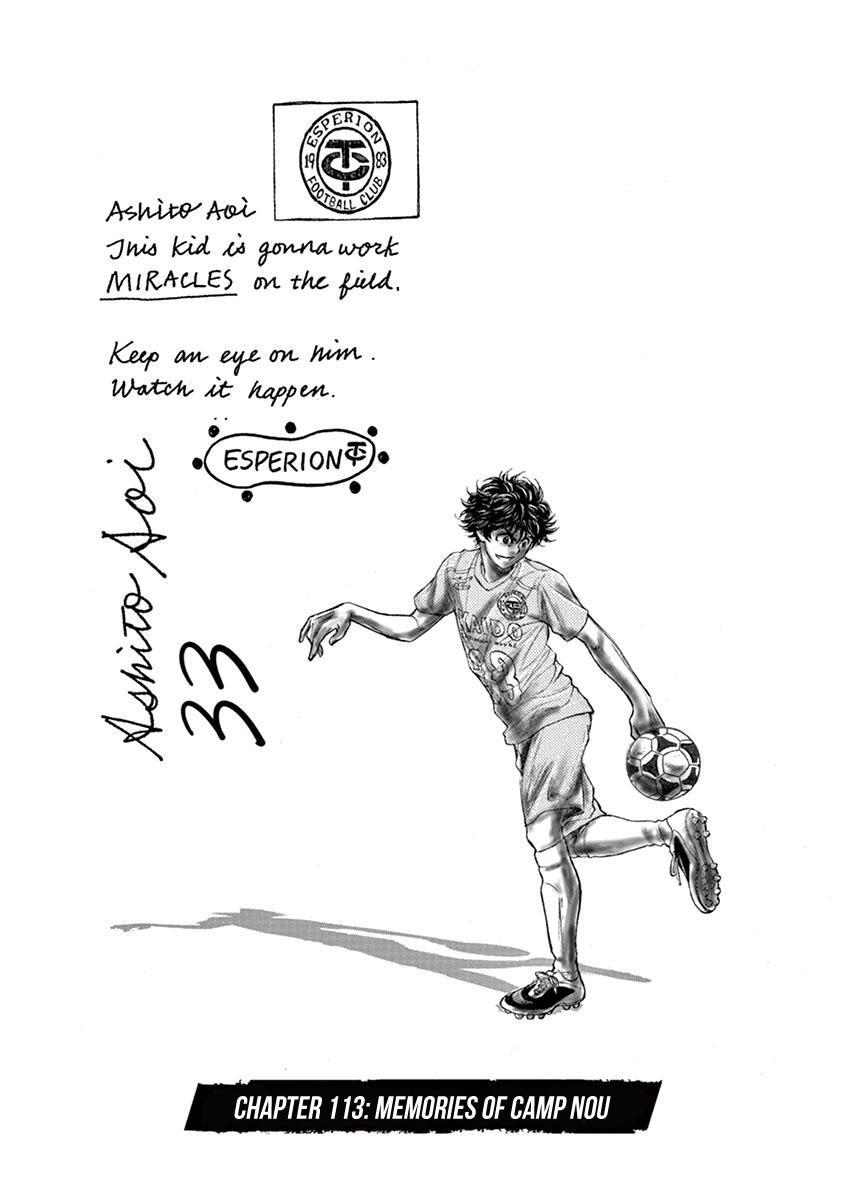 Ao Ashi Vol.11 Chapter 113: Memories Of Camp Nou page 2 - Mangakakalots.com