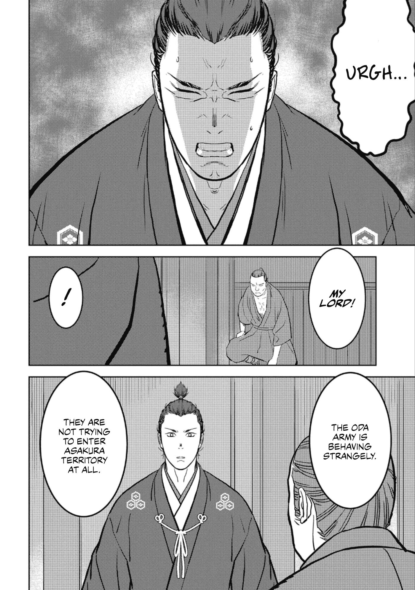 Sengoku Komachi Kurou Tan! Chapter 42 page 17 - Mangakakalots.com