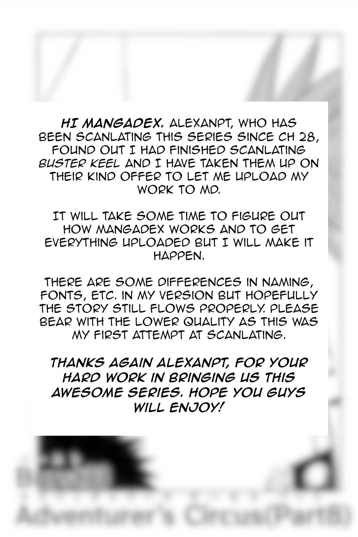 Buster Keel! Chapter 33: Adventurer's Circus (Part 8) page 2 - Mangakakalots.com